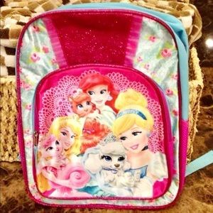 NWT-Disney Princesses-Palace Pets-Backpack
